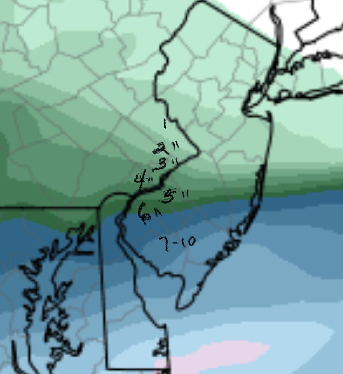 NAM Forecast