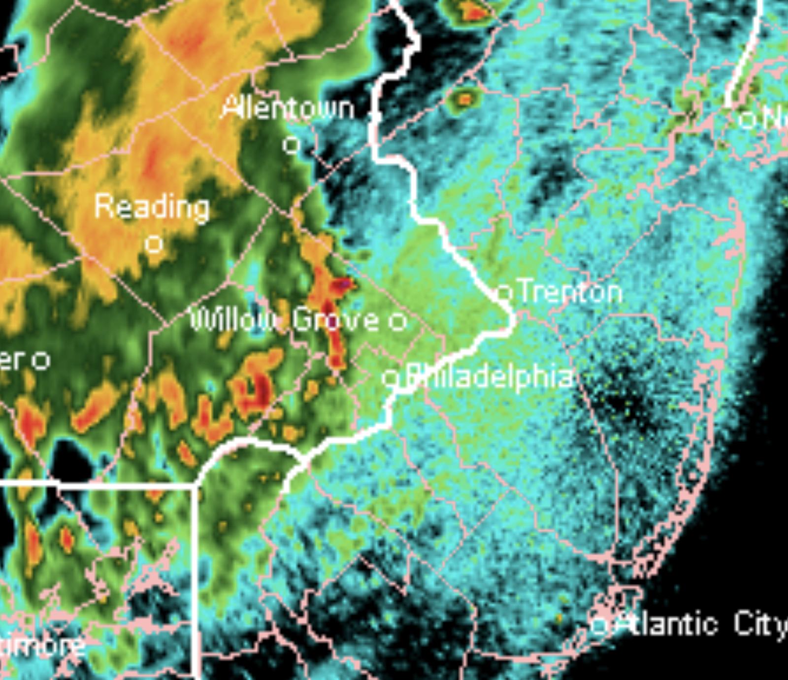 WEATHER UPDATE - Philadelphia Weekend Weather & Storm Forecasts